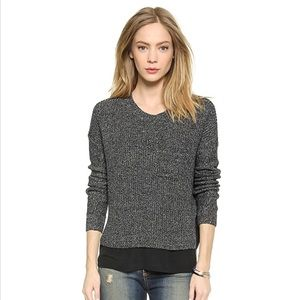 Madewell Cora Ribbed Pullover Sweater M1